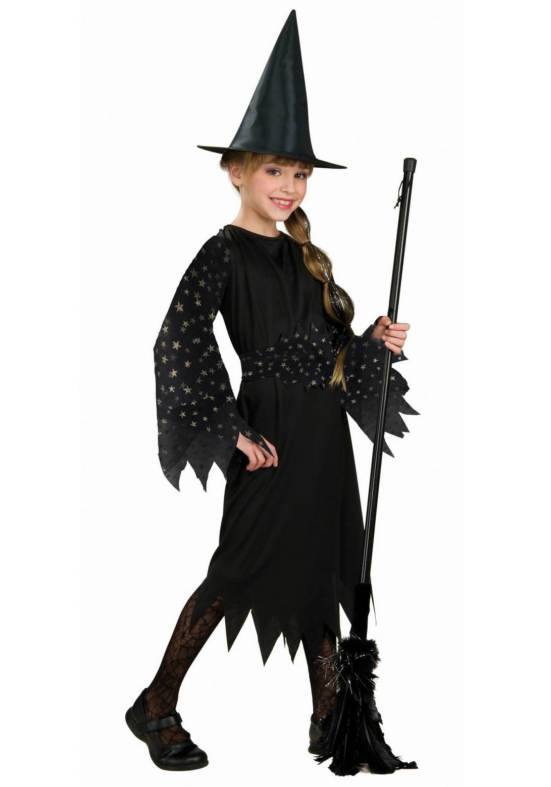 Child Spider Web Witch Costume