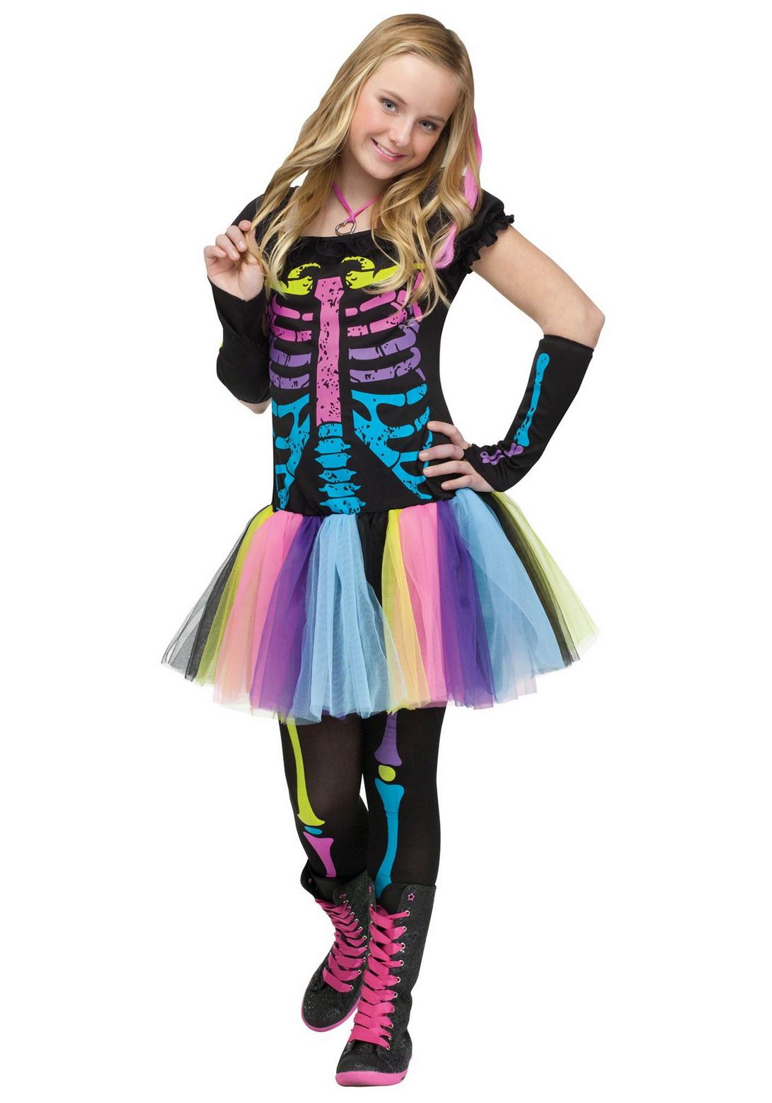 Teen Funky Punky Bones Costume