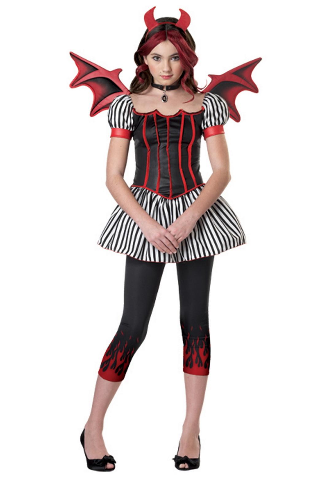 Tween Strangelings Devil Costume