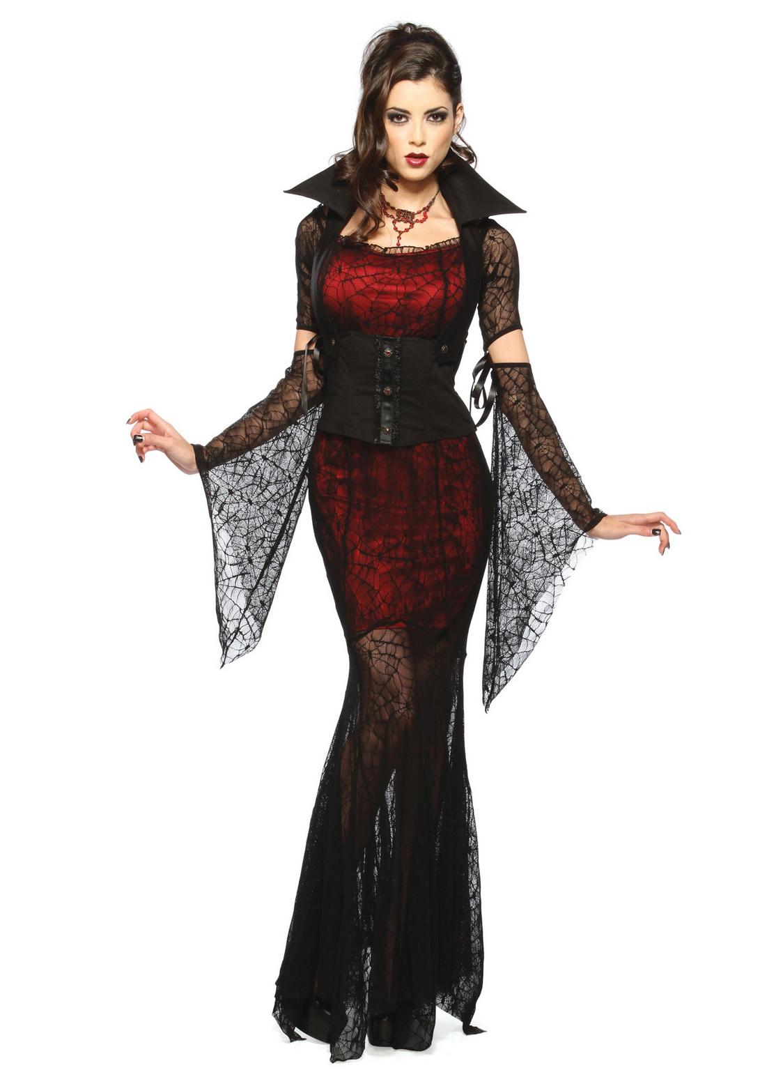 Adult Female Vampire Costume