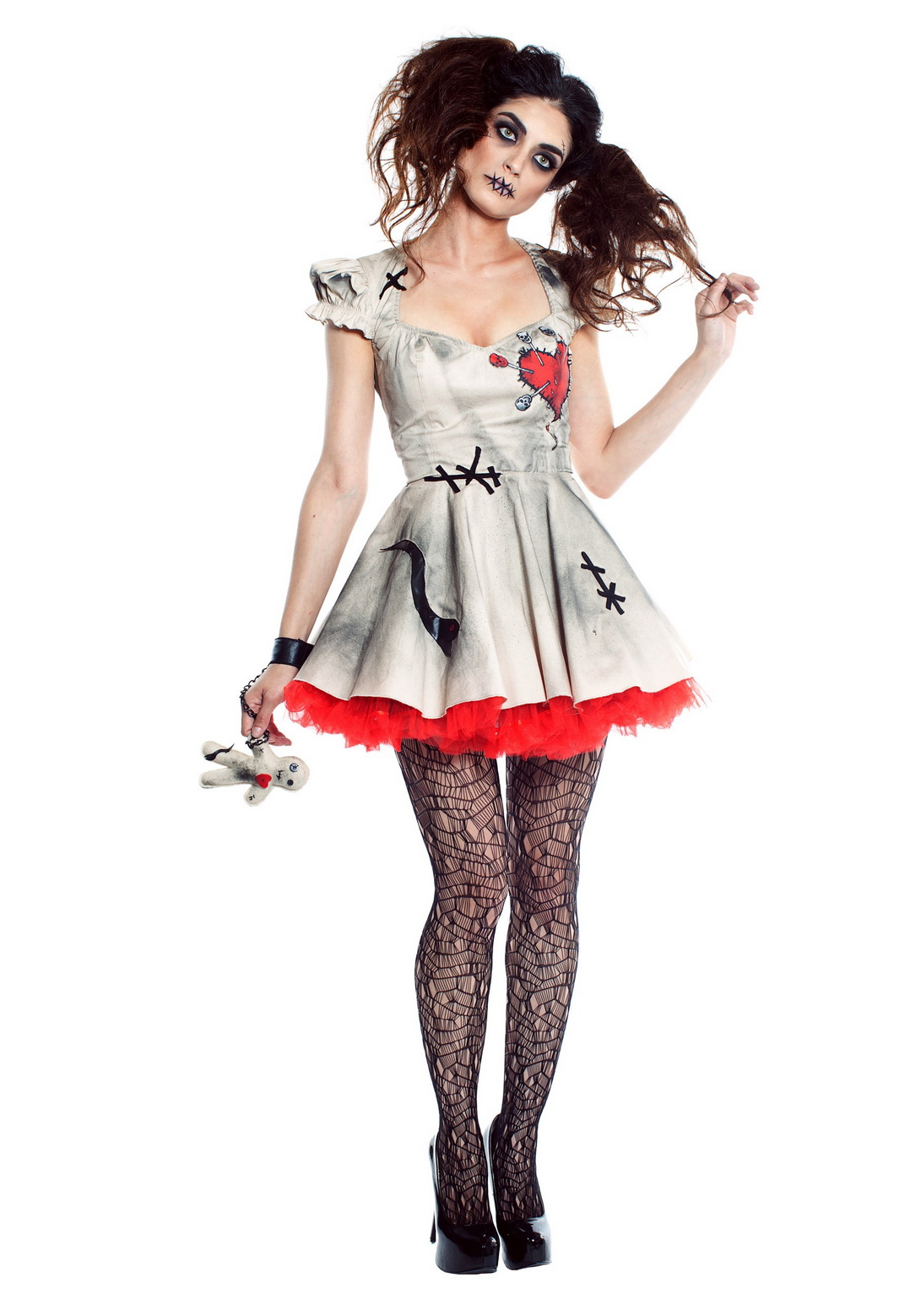 Sexy Womens Voodoo Doll Costume