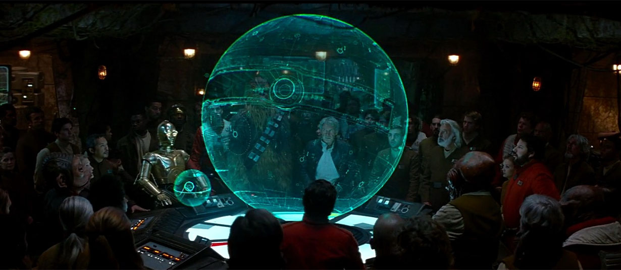 Holographic Map Star of Death, Star Wars