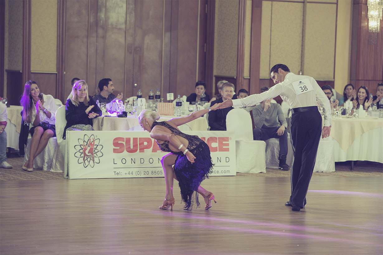 Dance competition final bow