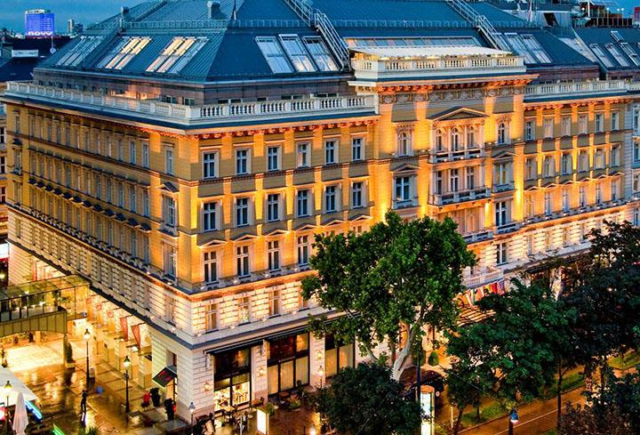 Grand Hotel Wien Building