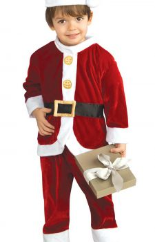 Kids Little Santa Costume Large